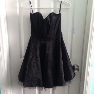Goth kawaii black dress
